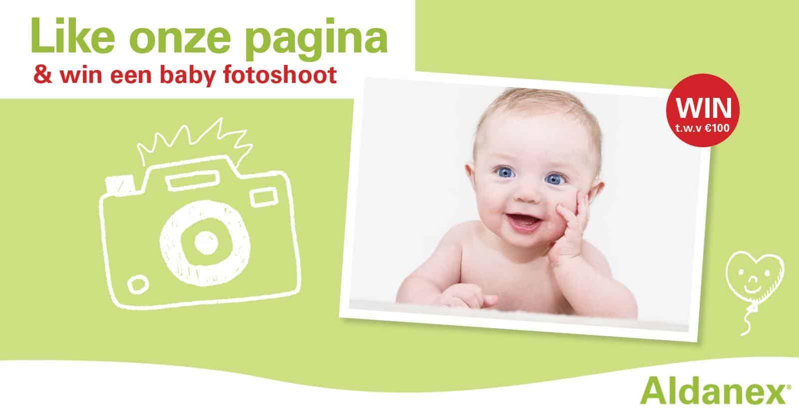 win een baby fotoshoot - aldanex