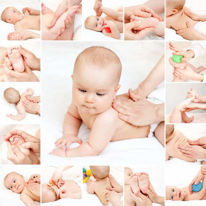 Hoe geef je een babymassage?